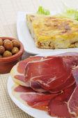 Spanish tapas — Stock Photo