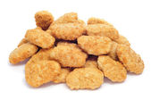 Chicken nuggets — Stock fotografie