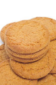 Ginger biscuits — Stock Photo