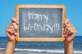 Proficiat met je verjaardag — Stockfoto