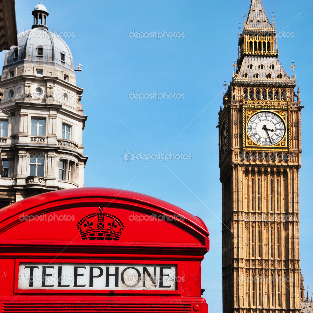 Biggar United Kingdom  city photo : Big Ben, London, Vereinigtes Königreich — Stockfoto © nito103 ...