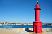 Beacon in Cambrils, Spain — Stok fotoğraf