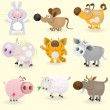 Royalty-Free Stock Vector Image: Domestic animals set