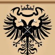 Royalty-Free Stock Vector Image: Double-headed heraldic eagle