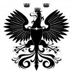 Heraldic eagle — Stock Vector #6247956