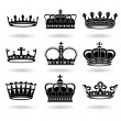 Set of Crowns — Stock Vector #6411475