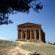 Greek Temple - Stok fotoraf