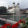 Stock Photo: Jesuit church, Lucerne