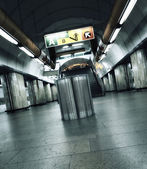 Subway spirit — Stockfoto