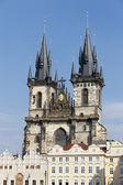Prague bohemian church — Stock Photo