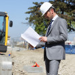 On building site — Stock Photo