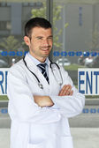 Doctor success — Stock Photo
