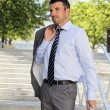Stock Photo: Modern businessman