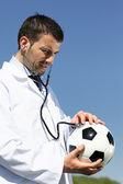 Ball doctor — Stock Photo