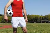 Duch piłki nożnej — Zdjęcie stockowe