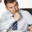 Pensive businessman — Stock Photo #5774299