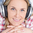 Royalty-Free Stock Photo: Headphones music