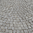 Paving stone square — Stock Photo