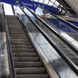 Airport escalator — Stock Photo