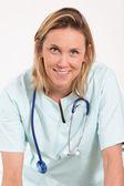 Woman doctor portrait — Stock Photo