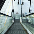 Royalty-Free Stock Photo: Escalator square