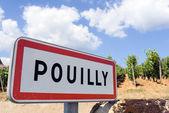 Pouilly, francia — Foto de Stock