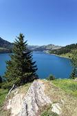 Verticale lake — Stockfoto