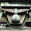 Train wheel — Foto Stock