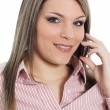Woman on the phone — Stock Photo #6526170