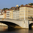 Lyon bridge — Stock Photo