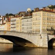 Stock Photo: Lyon bridge