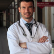 Stock Photo: Hospital doctor