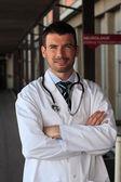 Het ziekenhuis arts — Stockfoto