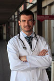 The hospital doctor — Stock Photo