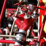 czerwony wyposażenie — Zdjęcie stockowe
