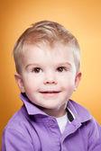Cute smiling little boy — Stock Photo
