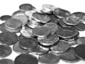 Euromunten — Stockfoto