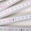 Carpenter ruler — 图库照片