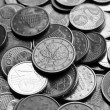 Stock fotografie: Euro coins background