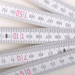 Foto Stock: Carpenter ruler
