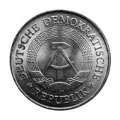 DDR coin — Stock Photo