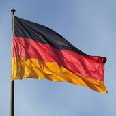 German flag — Photo