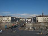 维托里奥广场都灵 — 图库照片