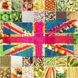 Union Jack UK flag — Stock Photo