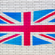 Union Jack UK flag — Stock Photo #5534412