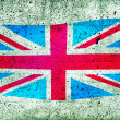 Union Jack UK flag — Stock Photo #5548870