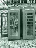 London telephone box — 图库照片