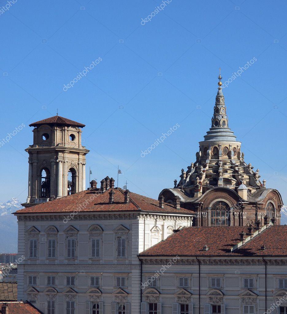 Cappella della Sindone, Turin — Stock Photo