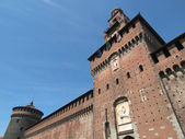 Castello Sforzesco, Milan — Stock Photo