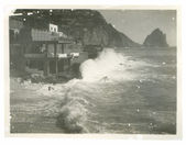 Old photo of Capri, Naples, Italy — Stock Photo